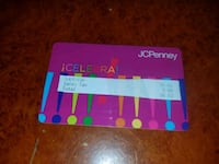 Jcpenney gift card  North Attleborough, 02760