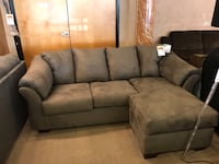 Grey Microfiber Sectional By Ashley  Phoenix, 85018