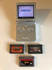 Nintendo Gameboy Advance SP GBA + games