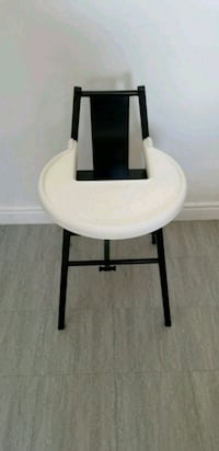 white and black wooden chair Laval, H7W 3G5