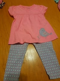 toddler's pink and white dress Indio, 92201