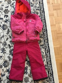 Girls snowsuit and snow pant, size 4 ( fit for 5-7 years old) Toronto, M4C 4H1