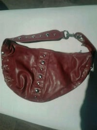 Red leather small purse Kitchener, N2K 4J7