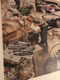 FORD ThunderBird poster (fathers day gift) ??