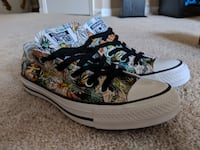 Converse Chuck Taylor All Star Women's Ox Daisy Print Black/Rebel Ashburn