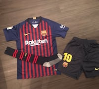 Barcelona kit 2018 2019 Two black and red nike jersey shirts Doral, 33178