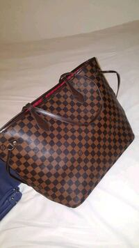 sac à main en cuir marron Louis Vuitton Évry, 91000