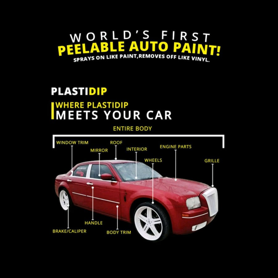 Plasti dip parts or full vehicle?