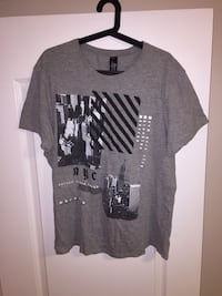 Grey New York T-Shirt Edmonton, T6R 2T6
