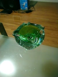Blown glass art / ashtray Waterloo