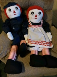 Raggedy ann and andy dolls Pasadena, 21122