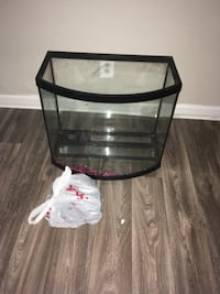 black framed clear glass fish tank Peachtree Corners, 30092