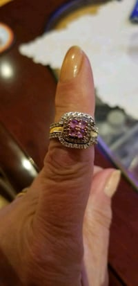 Diamond and pink sapphire ring  Consecon, K0K 1T0