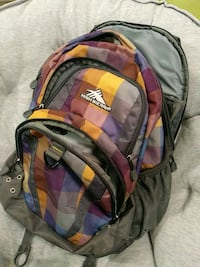 High Sierra Checkered Backpack Vienna, 22180