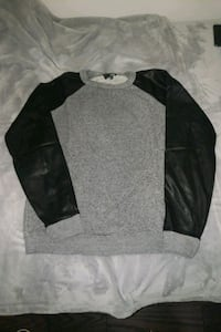 Wilfred Free faux leather sleeves Toronto, M4E 2E7