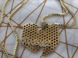 Wu Tang Clan x King Ice 14K Gold The Swarm Necklace!