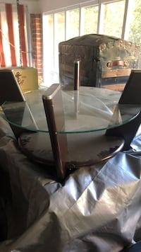Living room table glass top included  Macon, 31204
