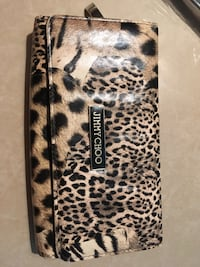 brown and black leopard print iPhone case