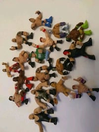 WWE Mattel Figures 2011 2012 lot of 17 figures all for $15 Whitchurch-Stouffville, L4A 0J5