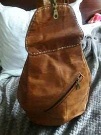 Authentic leather handmade  backpack Birmingham, 35244
