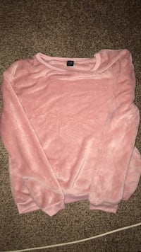 pink scoop-neck long-sleeved shirt Clinton, 84015
