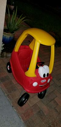 red and yellow Little Tikes cozy coupe Orlando, 32822