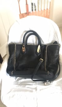Henri Bendel Black  Tote Bag.  Heavy duty with shoulder strap Glenn Dale, 20769
