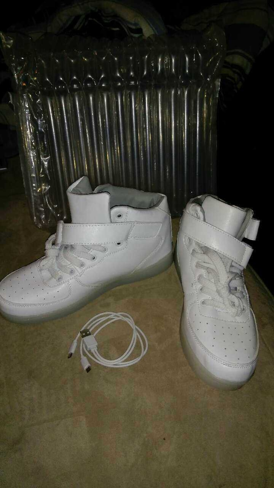 Rechargeable light up shoes. Brand new. - United States