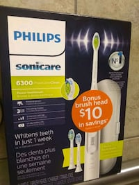 Sonicare 6300 toothbrush Des Moines, 50310
