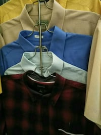blue and white polo shirt Douglasville, 30134