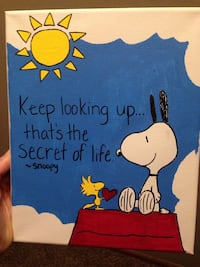 Snoopy Peanuts paintings-see info! Milton, L9T 4T3