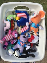 $8 for all the Assorted Plush Toys in this basket