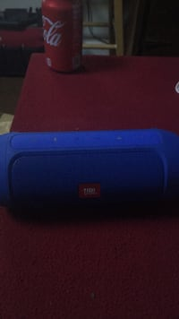 blue JBL portable bluetooth speaker Mc Lean, 22102