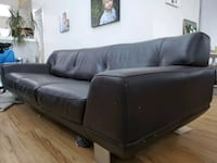 Custom high grade real leather couch.  Extra long.   Retail 5000.00 Calgary, T2M 0X9