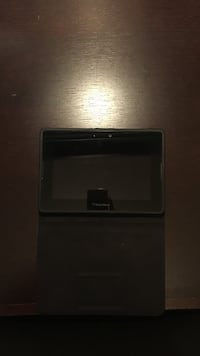 Black and gray black berry tablet computer case