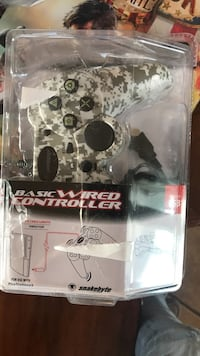 Camouflaged Play Station 3 Wired controller