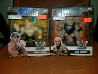 two Metals Die-Cast WWE John Cena and The Rock boxes Winnipeg, R2W 2J7