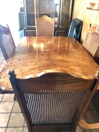 brown wooden dining table set San Mateo, 94403