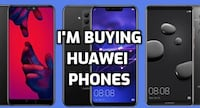 i will buy all huawei phones (p30 pro, mate 20 pro, p20 pro, etc.) Toronto