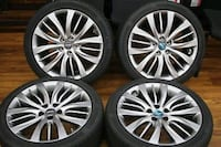 Genesis g80 19 wheels 5x114 set of 4 Anaheim, 92801