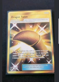 Dragon Talon Ultra Rare Dragon Majesty (pokemon) 64 km