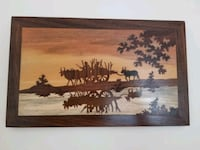 Handmade wooden wall hanging Cheverly
