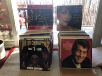 Assorted record collections/LP's Rockville