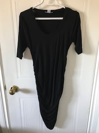 black maternity short-sleeved dress Gatineau, J8Y 6L1