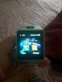 silver Veezy Gear S smart watch Toronto, M2J 3S4