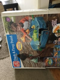 New in box , step 2 water table. Box  damaged in storing. Item not used , zip 10591 Tarrytown, 10591