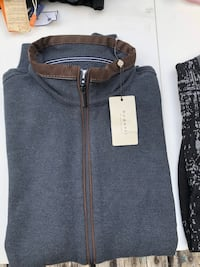 black and gray zip-up jacket Vancouver, V5L 1W9