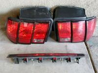 two red car tail lights Pico Rivera, 90660