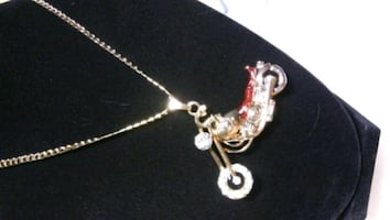 This Harley Style Necklace  or Choper & Curb Chain