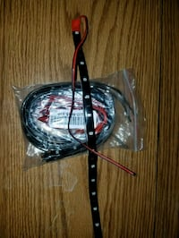 black and red corded headphones Copperas Cove